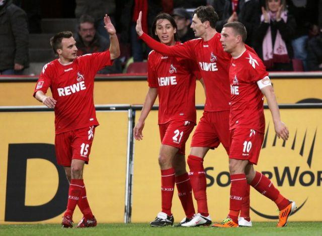 Η Κολωνία συνέτριψε 4-0 το Ανόβερο στο παιχνίδι με το οποίο άνοιξε η αυλαία της 26ης αγωνιστικής της Bundesliga | tovima.gr