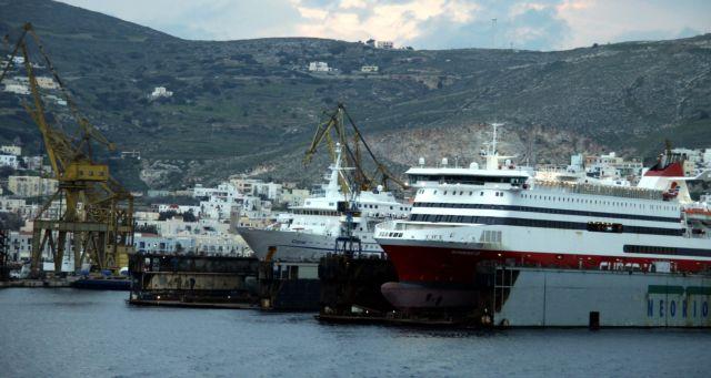 Επιασε δουλειά το ναυπηγείο στο Νεώριο | tovima.gr