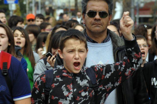 Λάρισα: Ελαβε τέλος η απεργία πείνας μαθητών | tovima.gr
