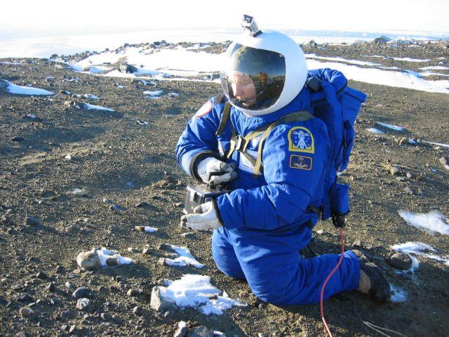 Στολή για τον Άρη δοκιμάζεται στην Ανταρκτική | tovima.gr