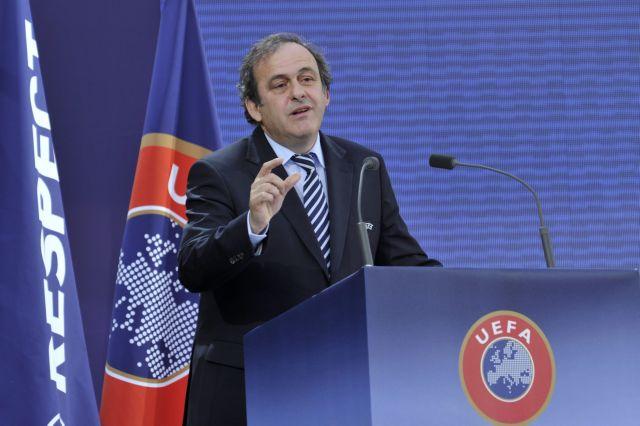 Με Πλατινί η UEFA μέχρι το 2015 | tovima.gr