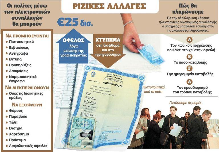 Πιστοποιητικά με ένα… κλικ | tovima.gr