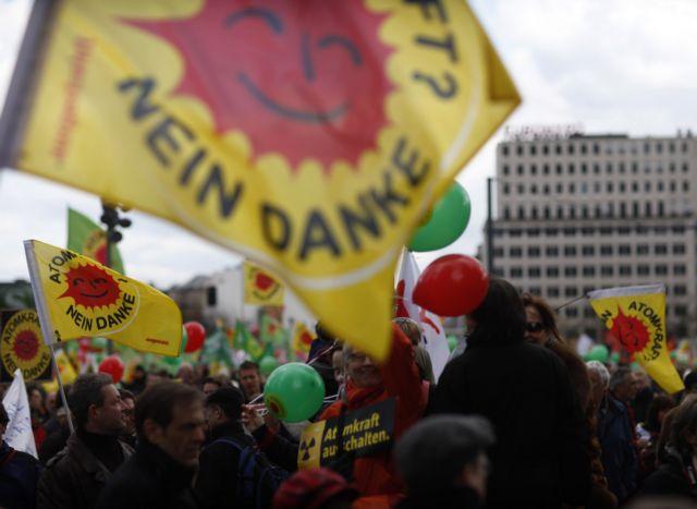Διαδηλώσεις στη Γερμανία κατά της πυρηνικής ενέργειας | tovima.gr