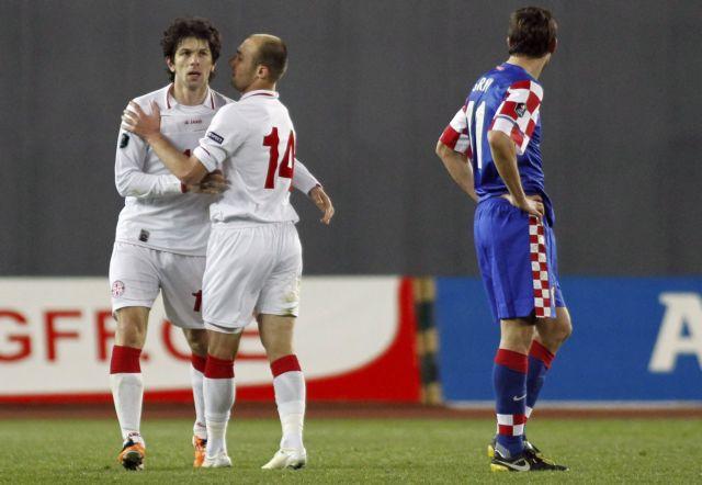 Νίκη για την Γεωργία στο ματς με την Κροατία, με νίκη πιάνει κορυφή η Εθνική | tovima.gr