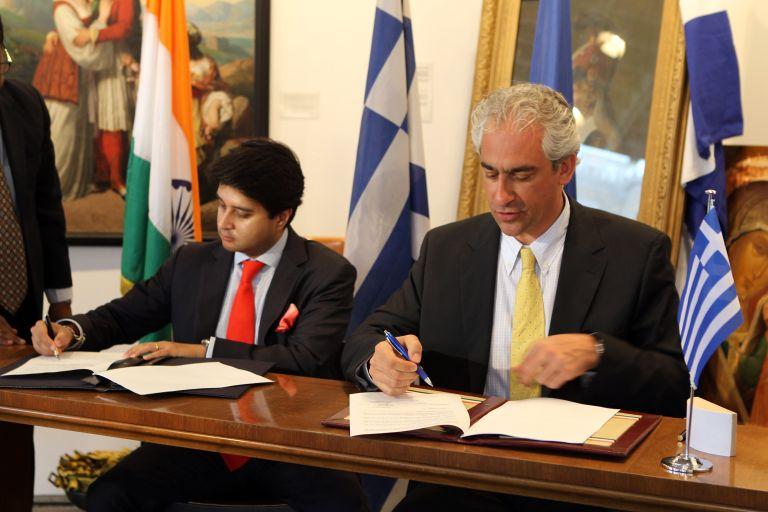 Επενδυτική συνεργασία Ελλάδας – Ινδίας   tovima.gr