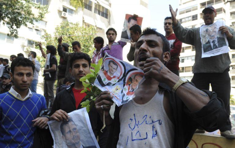 Πυρ κατά διαδηλωτών στη νότια Συρία | tovima.gr