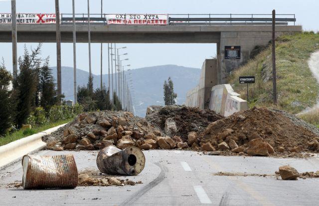 Κερατέα: Κλειστή και πάλι η λεωφόρος Λαυρίου | tovima.gr