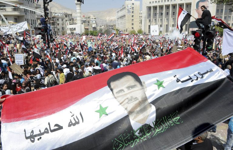 Συνωμοσία σε βάρος της Συρίας «βλέπει» ο Ασαντ | tovima.gr