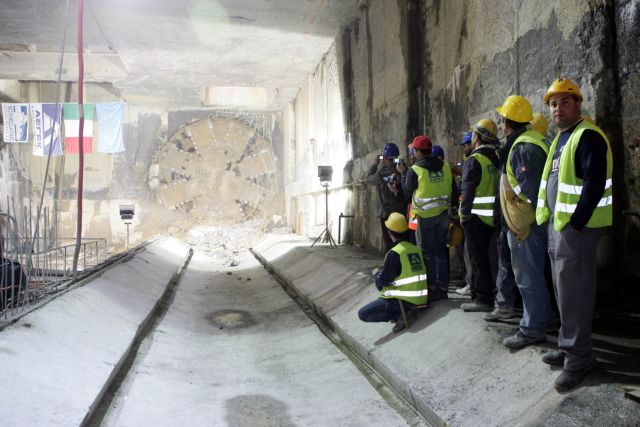 Σταμάτησαν πάλι τα έργα στο Μετρό Θεσσαλονίκης | tovima.gr