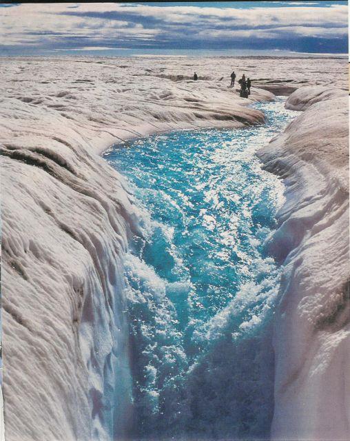 «Λίμνες» λιωμένων πάγων απειλούν το κλίμα | tovima.gr