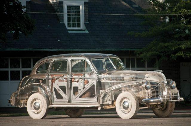 Διαφανές αυτοκίνητο-αντίκα βγαίνει σε δημοπρασία | tovima.gr