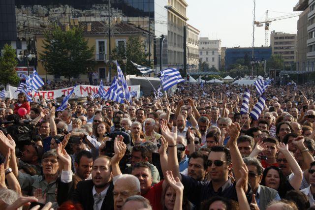 Μ. Θεοδωράκης: «Είμαστε με τους αγανακτισμένους»   tovima.gr