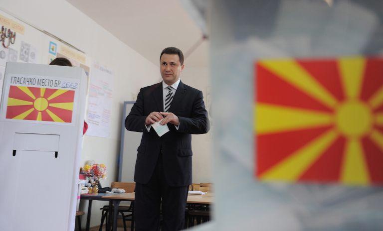 Χιλιάδες πολίτες στα Σκόπια ζητούν παραίτηση Γκρούεφσκι   tovima.gr