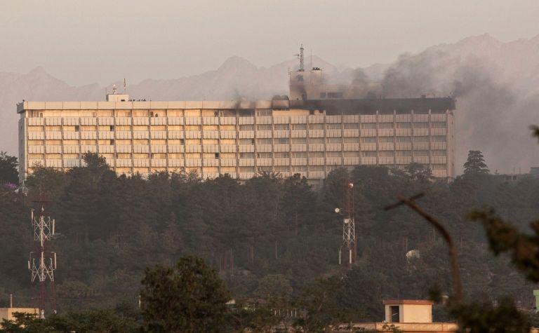 Καμπούλ: 10 νεκροί από εισβολή Ταλιμπάν στο Intercontinental | tovima.gr