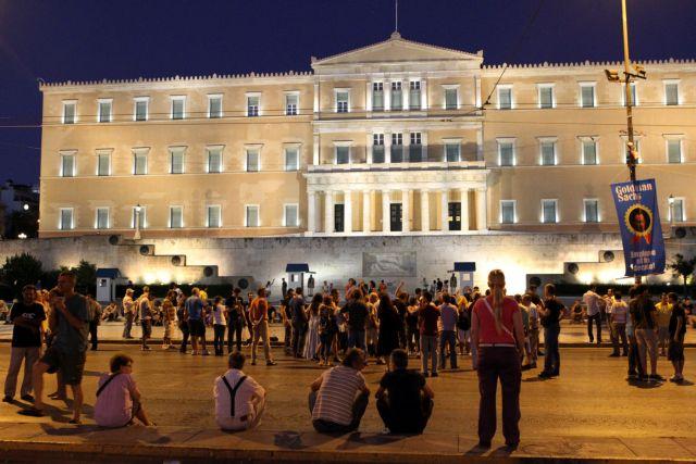 Ραντεβού των «Αγανακτισμένων» τα μεσάνυχτα στο Σύνταγμα   tovima.gr
