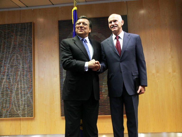 Θεσμική ενίσχυση της Ευρώπης ζητεί ο Πρωθυπουργός από τον Μπαρόζο | tovima.gr