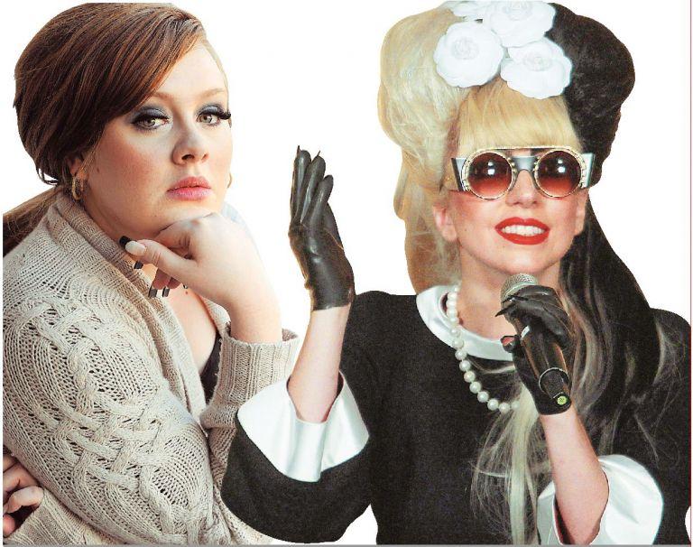 Αντέλ, Lady Gaga, Μπιγιονσέ:  οι βασίλισσες της ποπ | tovima.gr