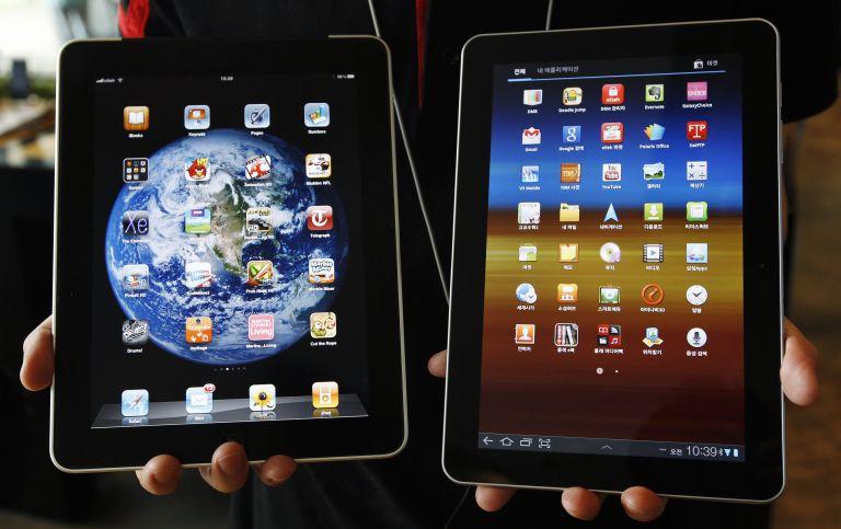 Αίρεται προσωρινά η απαγόρευση πώλησης της ταμπλέτας της Samsung   tovima.gr