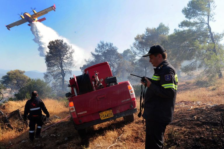 Υπό μερικό έλεγχο οι περισσότερες πυρκαγιές | tovima.gr