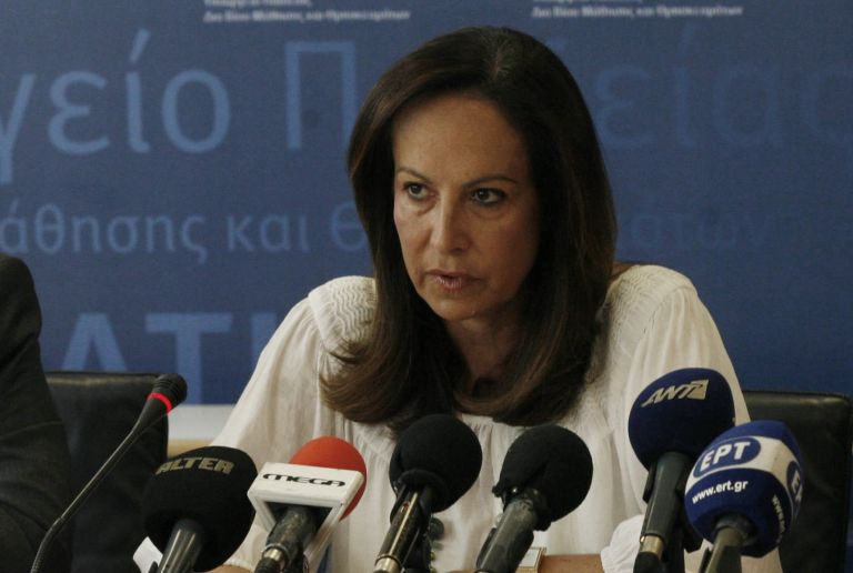 Αννα Διαμαντοπούλου: «Κόμματα και παρατάξεις δεν έχουν λόγο στα πανεπιστήμια»   tovima.gr