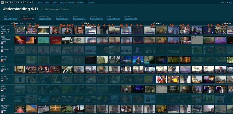 Τηλεοπτικό αρχείο για την 11η Σεπτεμβρίου στο Διαδίκτυο | tovima.gr