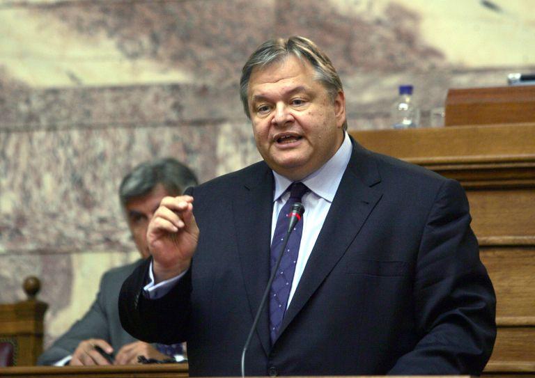 Ευ. Βενιζέλος: «Ανοιχτό πλέον το αίτημα για απευθείας ανακεφαλοποίηση των τραπεζών» | tovima.gr
