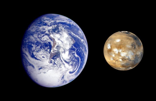 Ο Άρης γινόταν… Γη για λίγες ώρες | tovima.gr