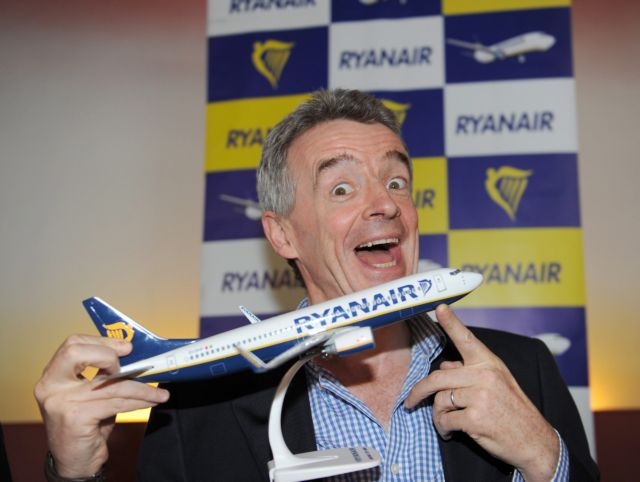 Στην ιρλανδική Ryanair το τρίτο αεροδρόμιο του Λονδίνου | tovima.gr