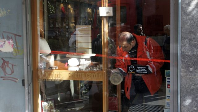 Ενοπλη ληστεία σε κοσμηματοπωλείο στα Εξάρχεια | tovima.gr