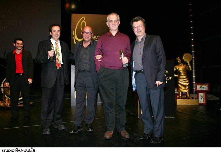 Δόθηκαν τα Θεατρικά Βραβεία Κοινού 2011 | tovima.gr