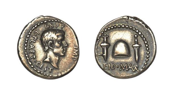 Μισό εκατ. δολάρια για νόμισμα με την επιγραφή «ειδοί  μαρτίου» | tovima.gr