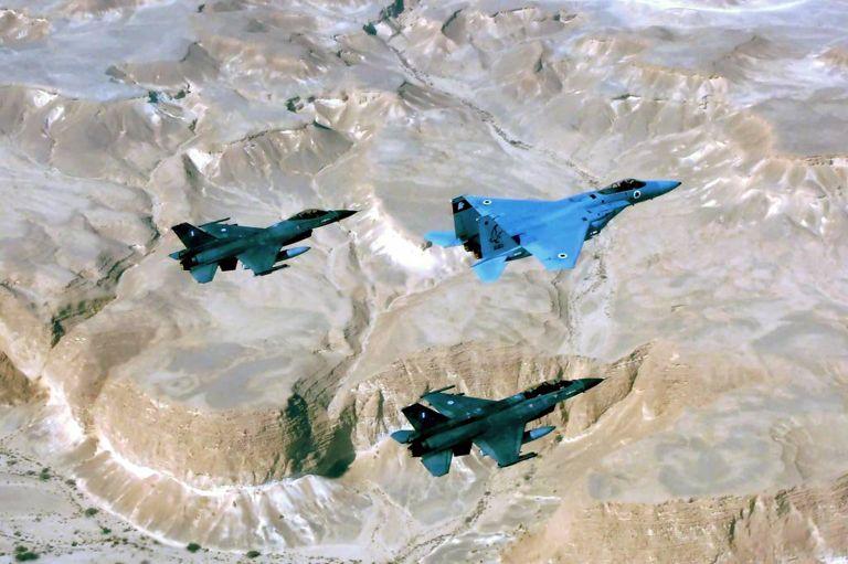 Blue Flag 2017: «Πλημμύρισαν» αεροσκάφη οι ισραηλινοί αιθέρες | tovima.gr