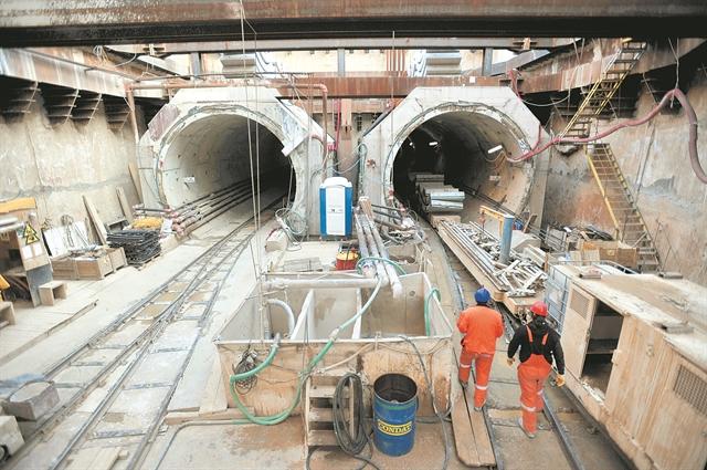 Το φθινόπωρο «ξεκλειδώνουν» τα μεγάλα έργα του μετρό | tovima.gr