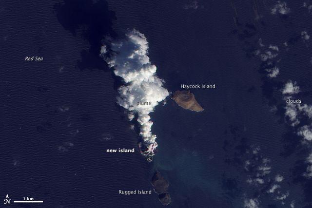 Ενα νησί αναδύεται από τα βάθη της Ερυθράς Θάλασσας   tovima.gr