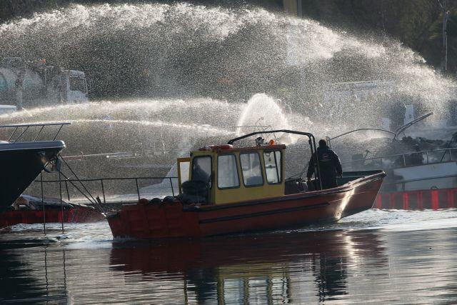 Πυρκαγιά σε θαλαμηγό στη θαλάσσια περιοχή του Σκορπιού | tovima.gr