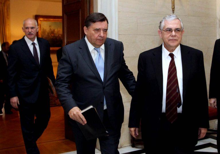 Με τον Γ. Καρατζαφέρη συναντήθηκε ο Πρωθυπουργός | tovima.gr