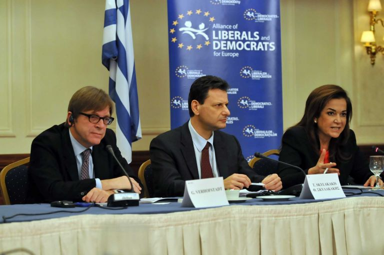 Συνάντηση Λ. Παπαδήμου με ευρωπαίους φιλελεύθερους | tovima.gr