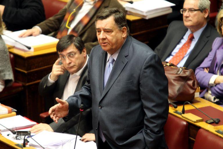 Παρέδωσαν τις έδρες τους στο ΛΑΟΣ Μ. Βορίδης και Αδ. Γεωργιάδης | tovima.gr
