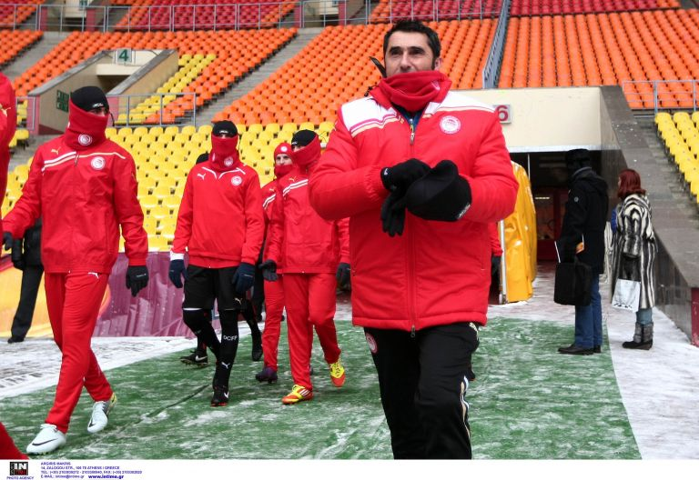 ΟΣΦΠ: Ο κόουτς Βαλβέρδε (λέει ότι) δεν φοβάται το κρύο | tovima.gr