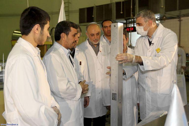 Αχμαντινετζάντ: «Δικαίωμα του Ιράν ο εμπλουτισμός ουρανίου» | tovima.gr