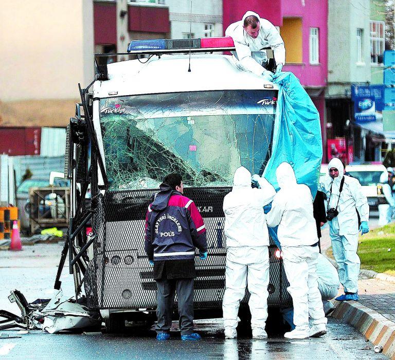 Αγκυρα: Βόμβα εξερράγη κοντά στο πρωθυπουργικό γραφείο | tovima.gr