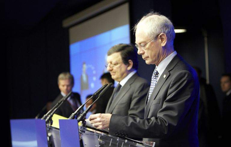 Συμφωνία για την ενίσχυση του «τείχους προστασίας» βλέπει ο Ρομπάι | tovima.gr