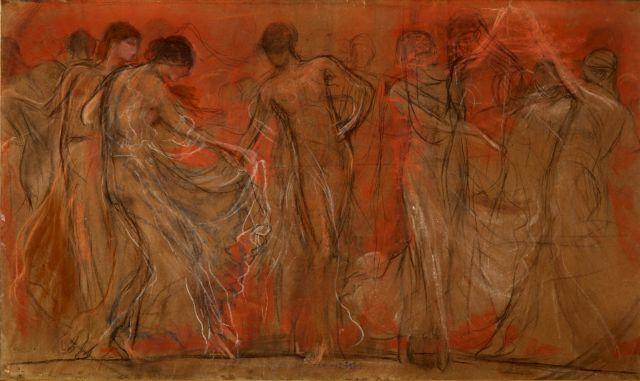 Ο Χορός των Μουσών του Γύζη στο Greek Sale των Bonhams | tovima.gr