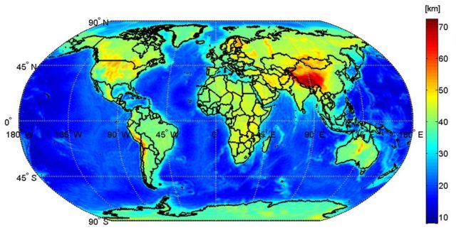 Ο «εσωτερικός» χάρτης της Γης | tovima.gr