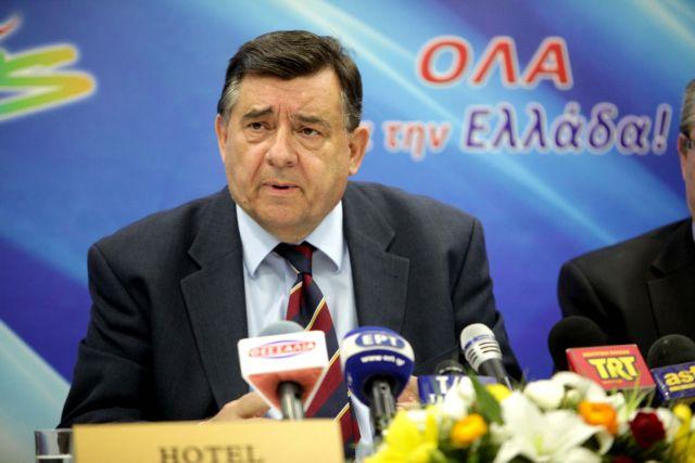 Ο Γ. Καρατζαφέρης επενδύει στον υπερσυντηρητισμό | tovima.gr