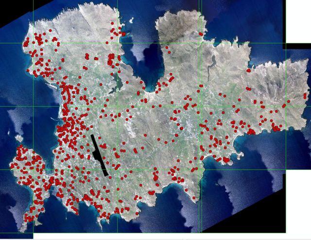 Οι πρώτοι χάρτες με τα καταγεγραμμένα αυθαίρετα | tovima.gr