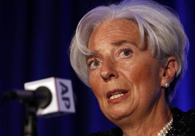 Λαγκάρντ: Δεν έχει απομακρυνθεί ο κίνδυνος της χρεοκοπίας για την Ελλάδα | tovima.gr