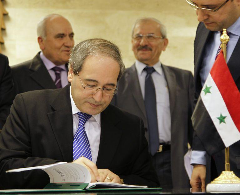 Η Συρία υπέγραψε τη συμφωνία για τους παρατηρητές του ΟΗΕ | tovima.gr