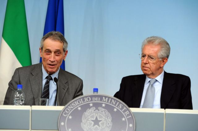 «Επίτροπο» ειδικό επί των περικοπών διορίζει ο Μάριο Μόντι | tovima.gr