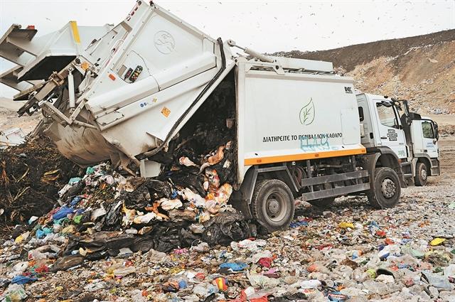 «Μπουρλότο» στα σκουπίδια λόγω εκλογών | tovima.gr